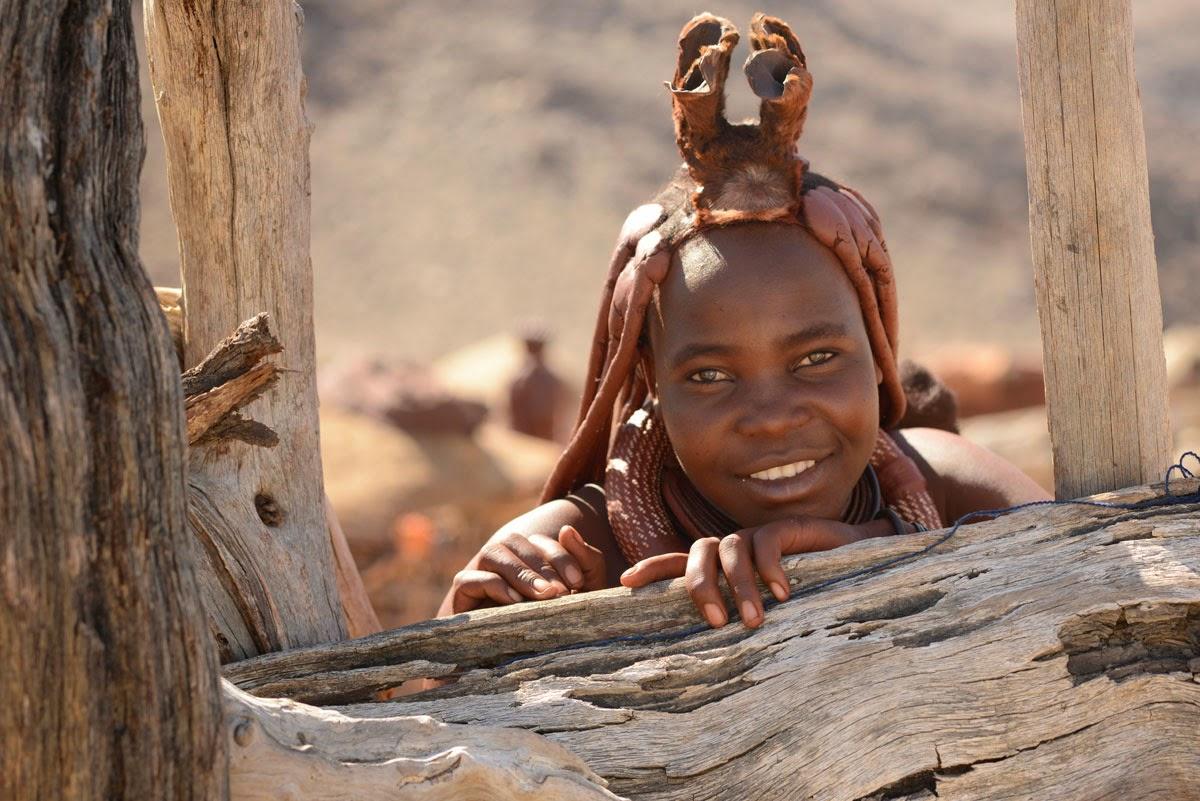 Himba at Okahirongo, Namibia