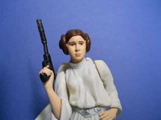 figura a escala de la princesa Leia