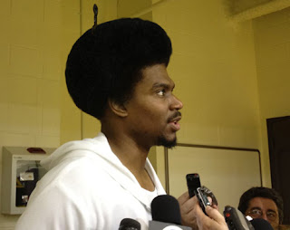 Andrew Bynum Afro Hair