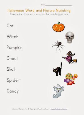 Halloween Printable Word Search For Kids 2