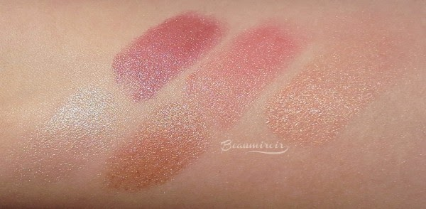 Smashbox L.A. Lights swatches of all shades