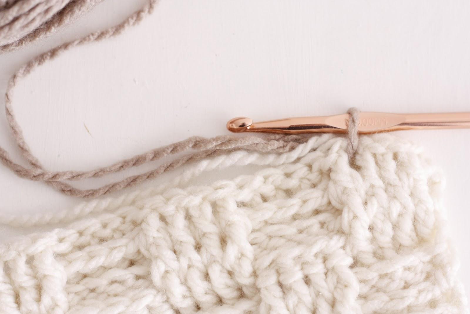 Crochet Basket Weave Afghan Baby Blanket Pattern And Tutorial : Nesting: Basket Weave Crochet Baby Blanket