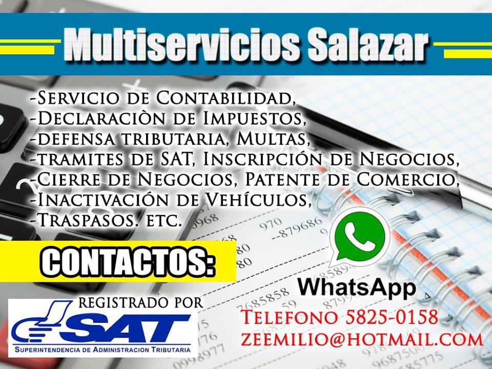 Servicios contables en Quetzaltenango