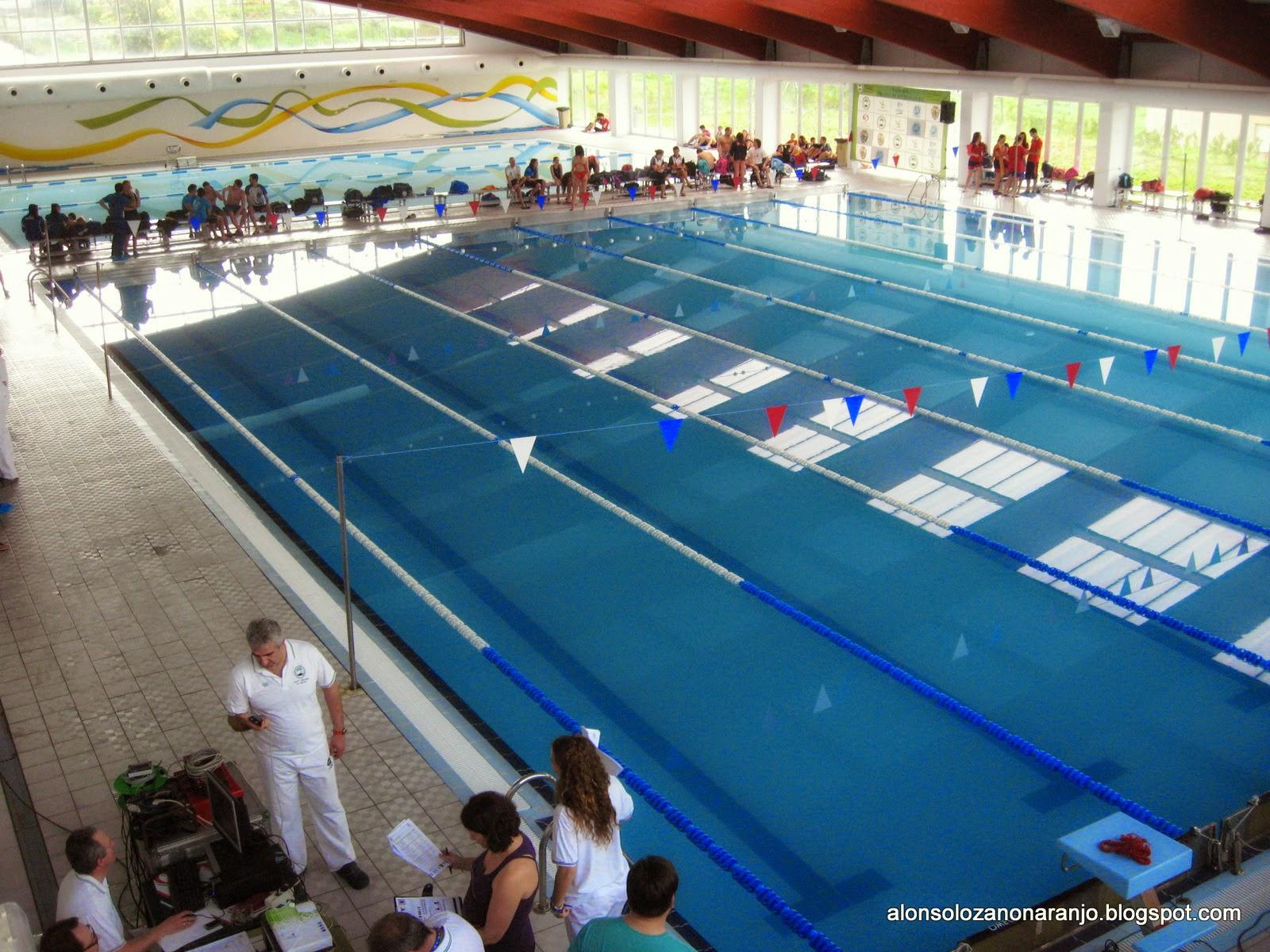 Alonso lozano mi blog fechas y sedes de los campeonatos for Piscina 50 metros cadiz