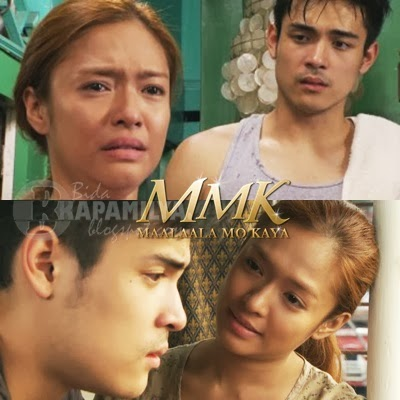 Xian Lim is a playboy in MMK Valentine episode with Bangs Garcia