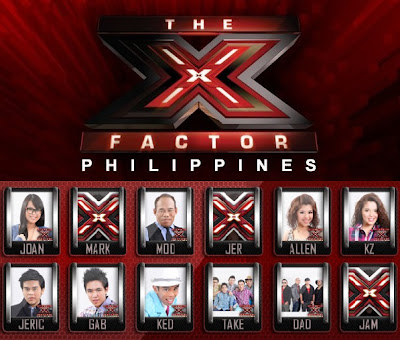 The X Factor Philippines Final 9 theme: Tribute to late music icons (August 25)