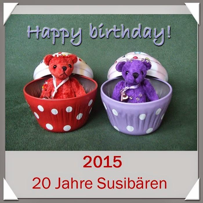 Happy Birthday! Im August übernehme ich die Versandkosten innerhalb Deutschland!