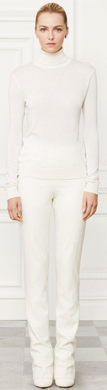 Ralph Lauren Funnelneck Sweater Fall 2014 Collection