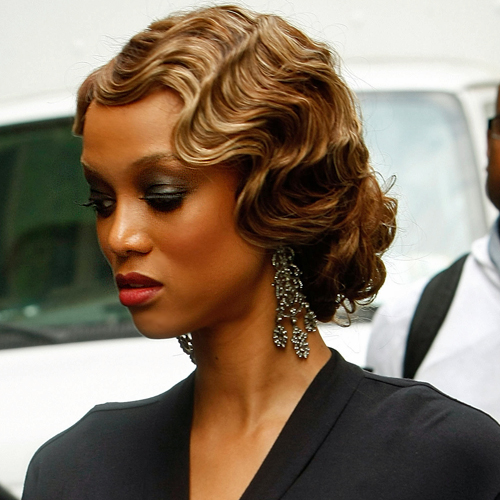 Finger Wave Hairstyles For Black Women