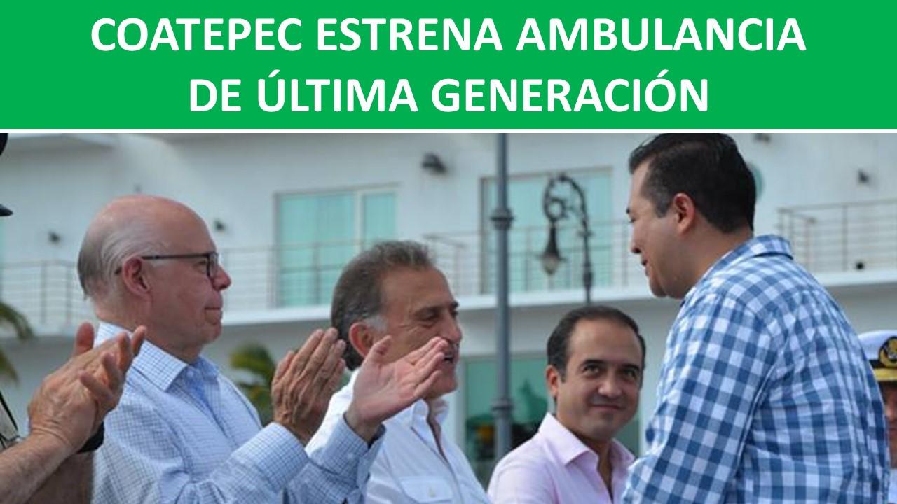 AMBULANCIA DE ÚLTIMA GENERACIÓN
