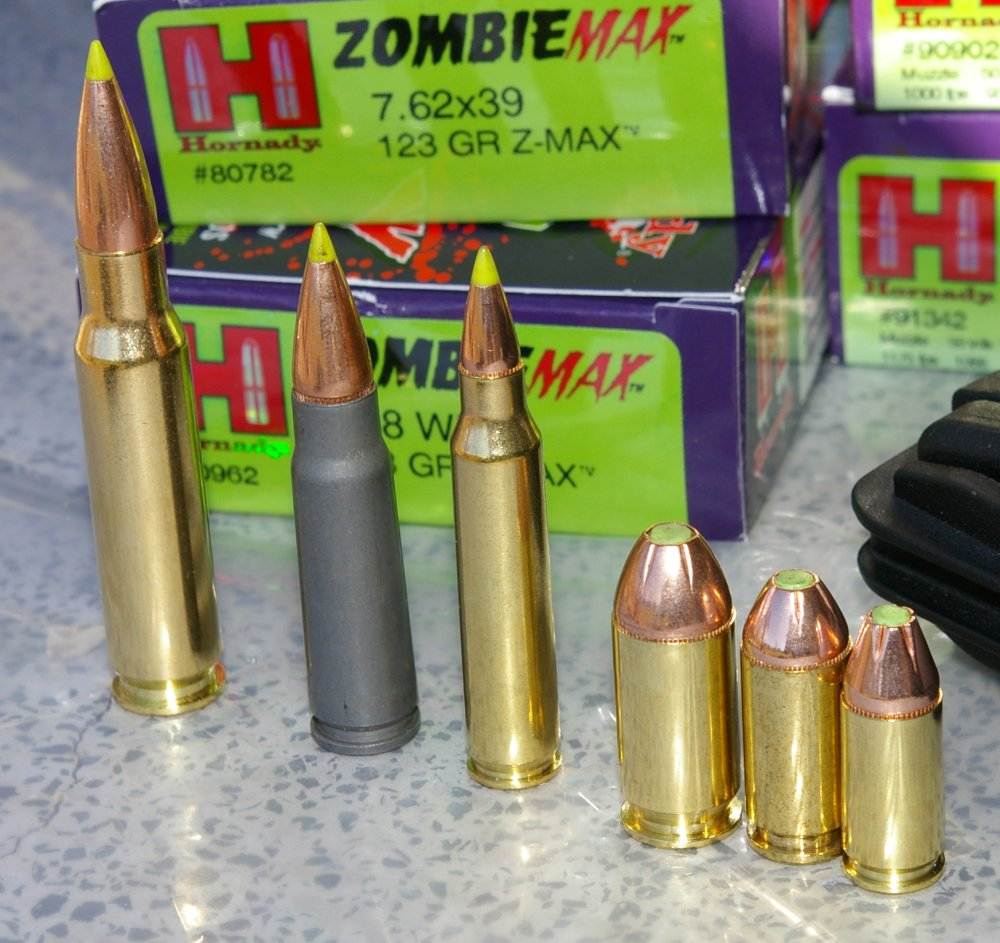 .45 ACP ZOMBIE MAX Review and Ammo Test - YouTube