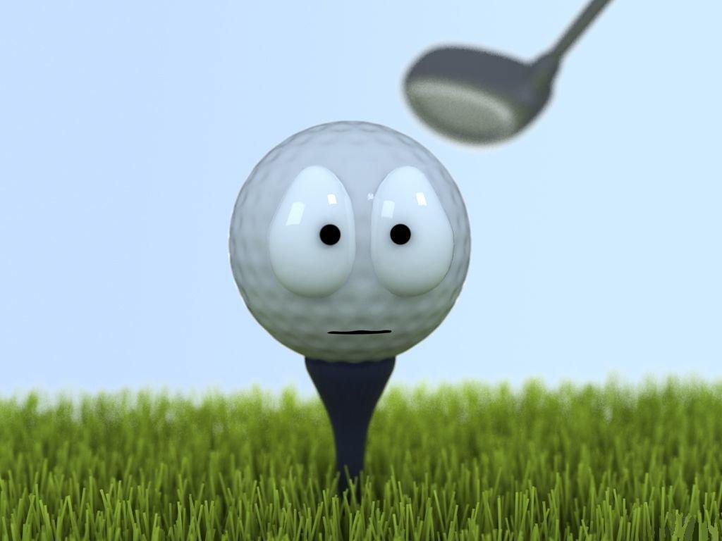 Confusing Golf Ball Wallpaper 1024x768 Download 1024 X 768