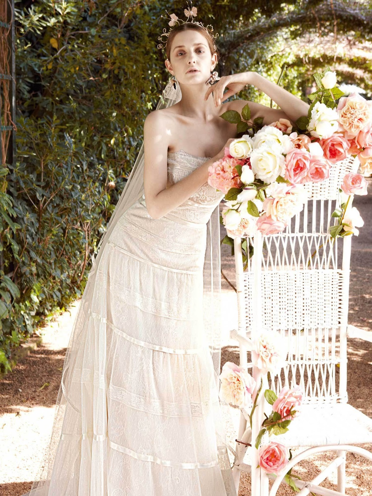 Pictures Of Shabby Chic Wedding Dresses : Yolancris spring heavenly sisters bridal wedding dresses