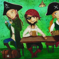 Pirates by the Ukrainian Painter Nadija Kalamiejets'