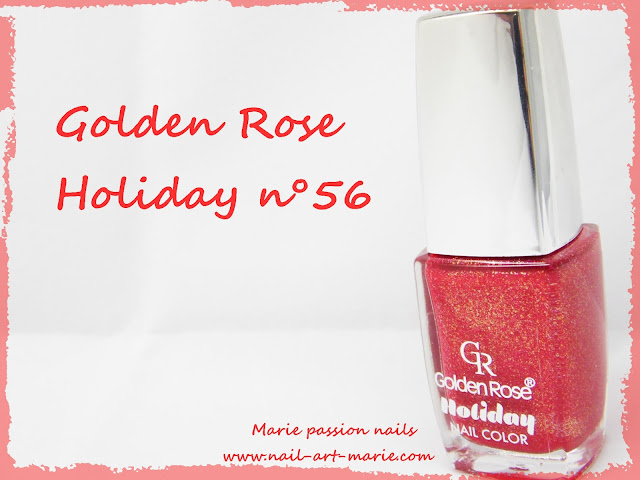 Golden Rose n°56 collection Holiday1