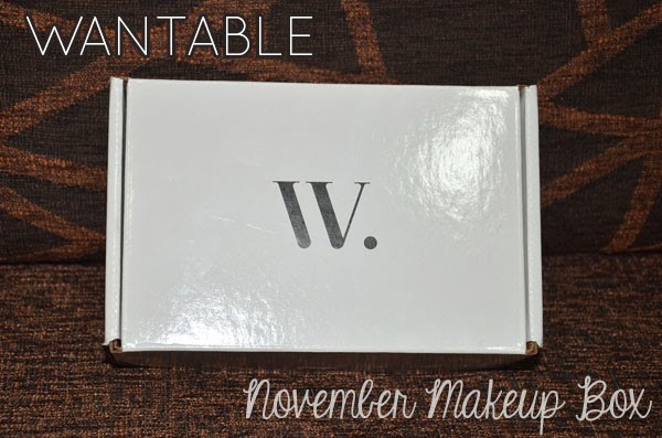Wantable Makeup Box November 2013