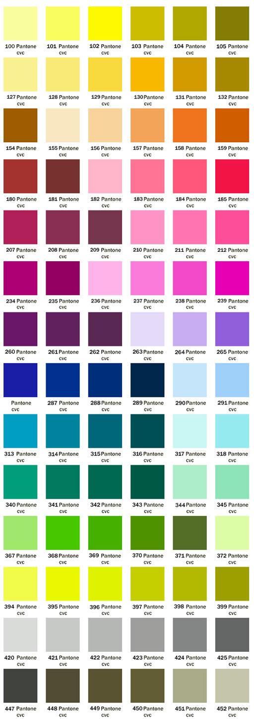 Intermediate Design 2015 Pantone Color Matching Pms