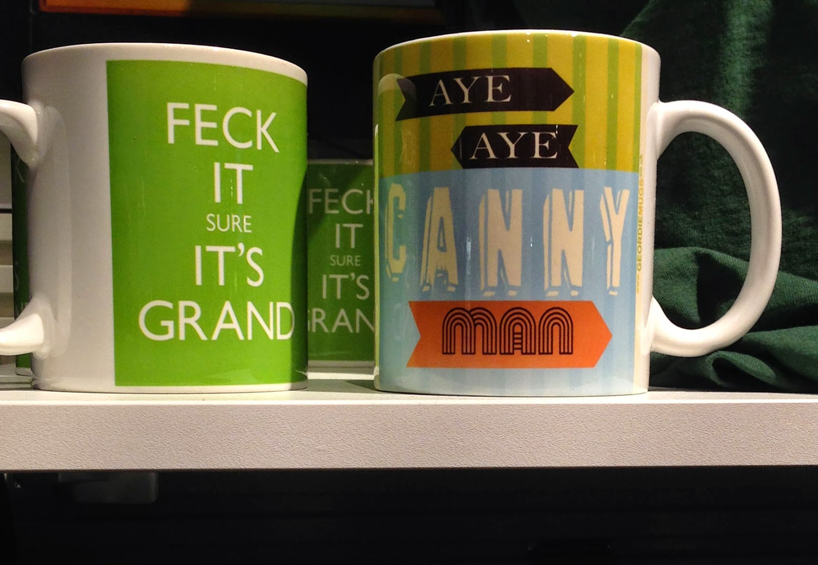 Geordie Mug in Ireland