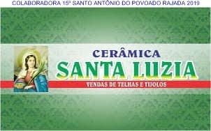 PUBLICIDADE: CERÂMICA SANTA LUZIA  POVOADO RAJADA C. dos DANTAS