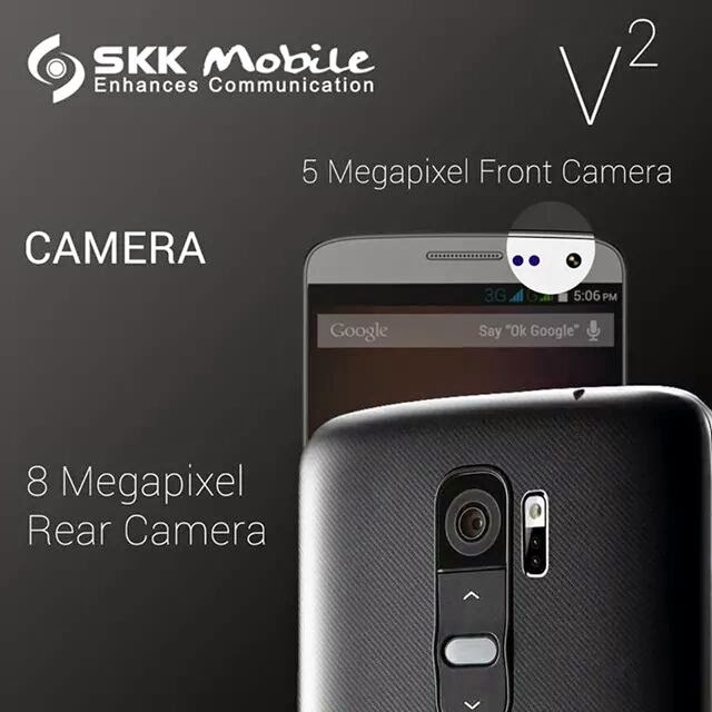SKK Mobile V2 Announced, LG G2 Lookalike for P4,999