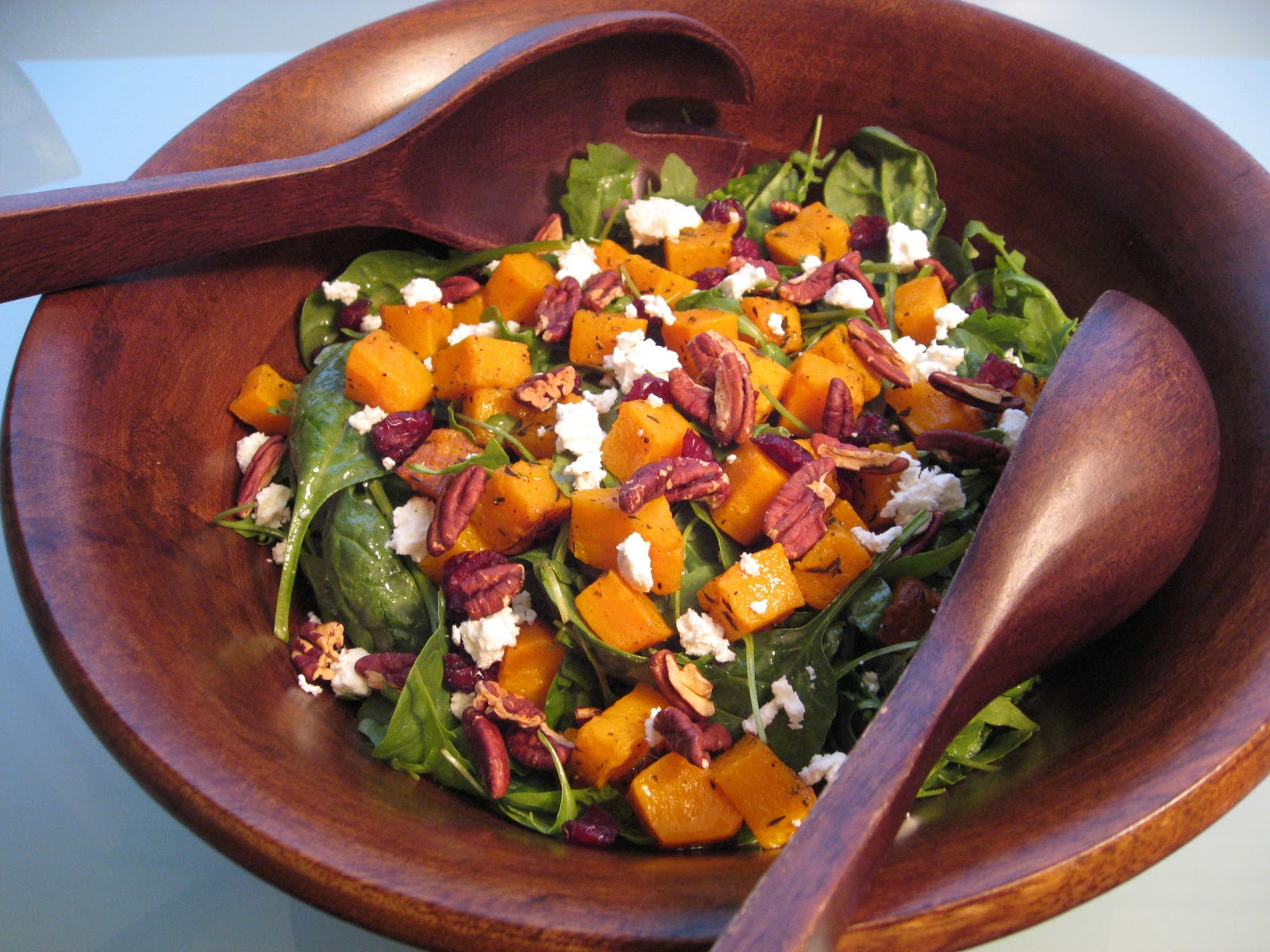 pics Roasted Butternut Squash and Spinach