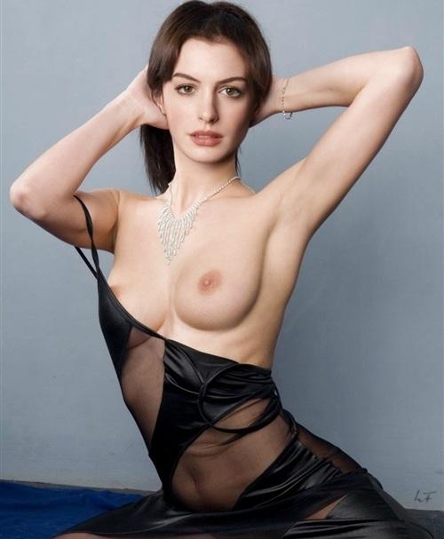 фото голая энн хэтэуэй