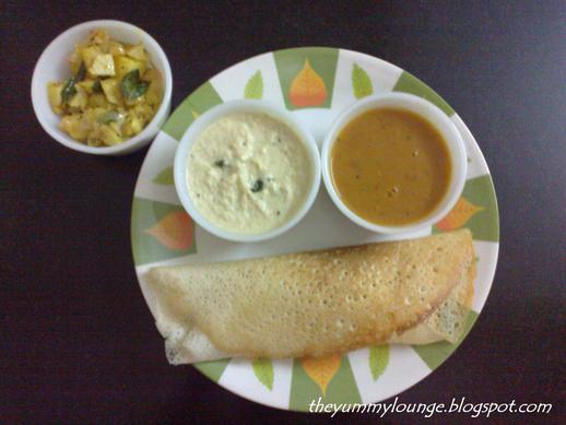Masala Dosa Batter Recipe With Potato Filling