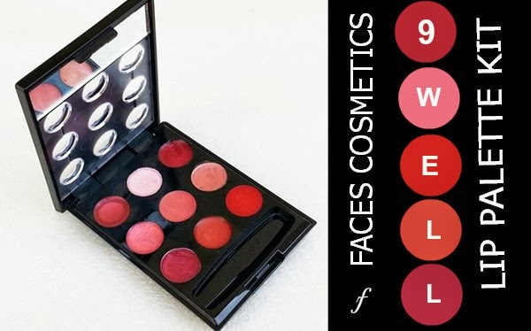 Faces Cosmetics 9 Well Lip Palette Kit