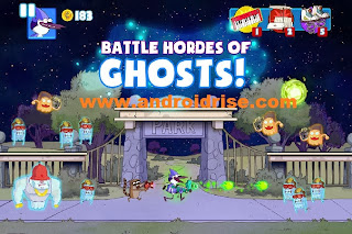 Ghost Toasters-Regular Show Android Game BATTLE HORDES OF GHOSTS!