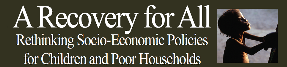 Recovery for All: Rethinking Socio-Economic Policies for Children and Poor Households