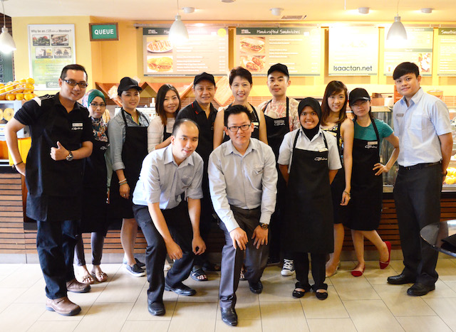 Sandwich Making Workshop @ O'Briens Irish Sandwich Cafe, Publika