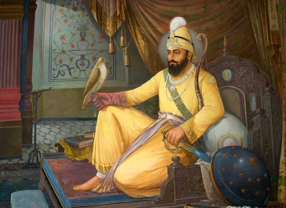 Guru Gobind Singh ji Weapons Akali Nihung Guru Gobind Singh