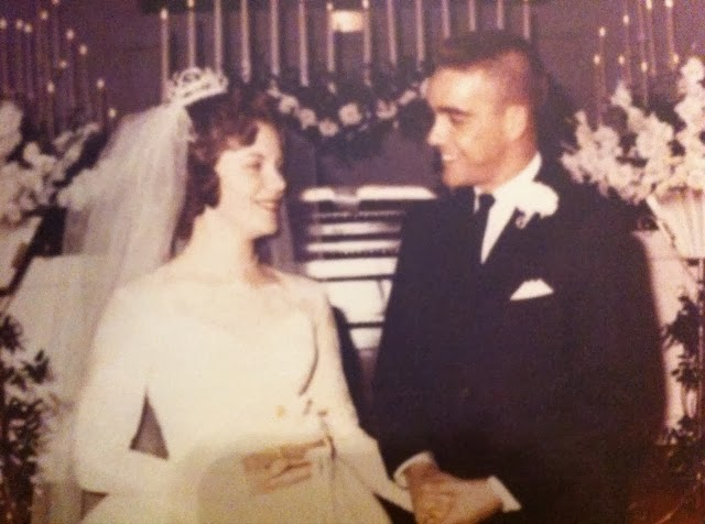 Wedding Day - January 19, 1964 - Priscilla & Bill Bochette
