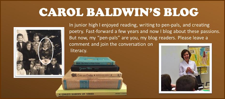 Carol Baldwin's Blog