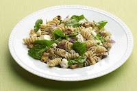 whole wheat pasta green walnuts and ricotta salata | Healthy Pasta Recipe