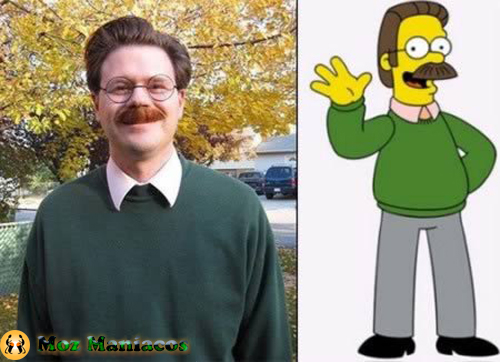 "Ned Flanders da série ""The Simpsons"""