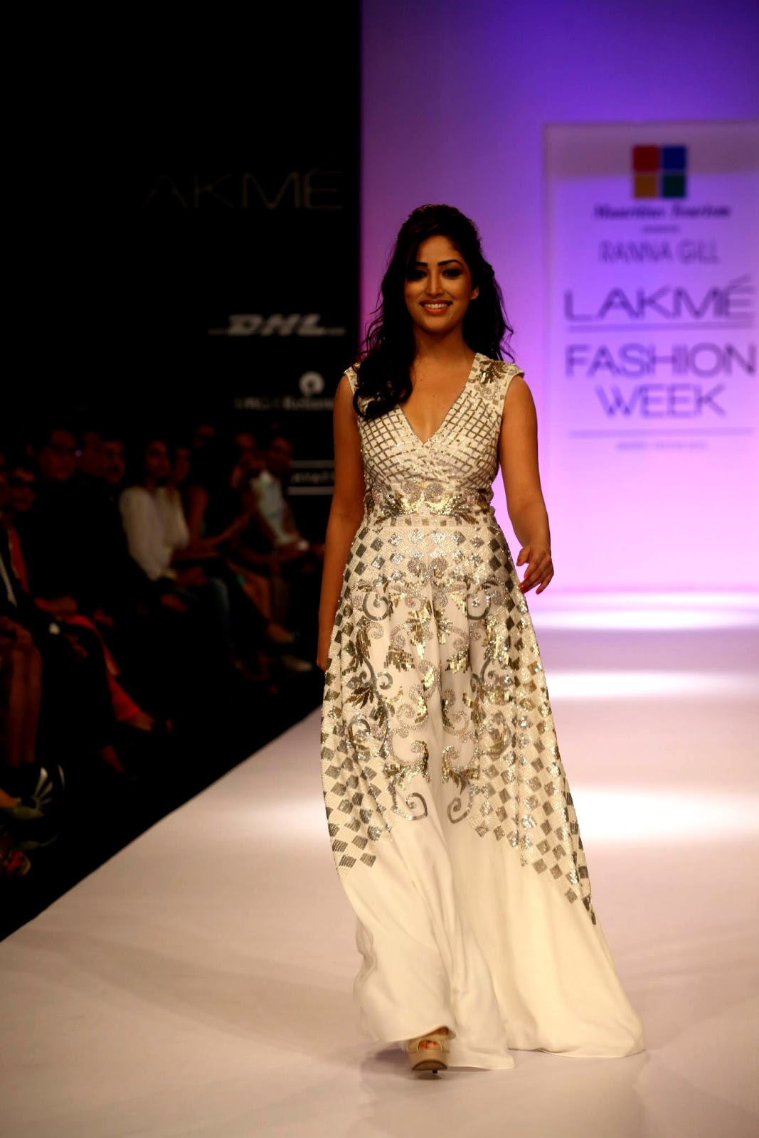 Ranna Gill Collection By Mauritius Tourism Lakme Fashion Week Winter Festive 2013 Day 1