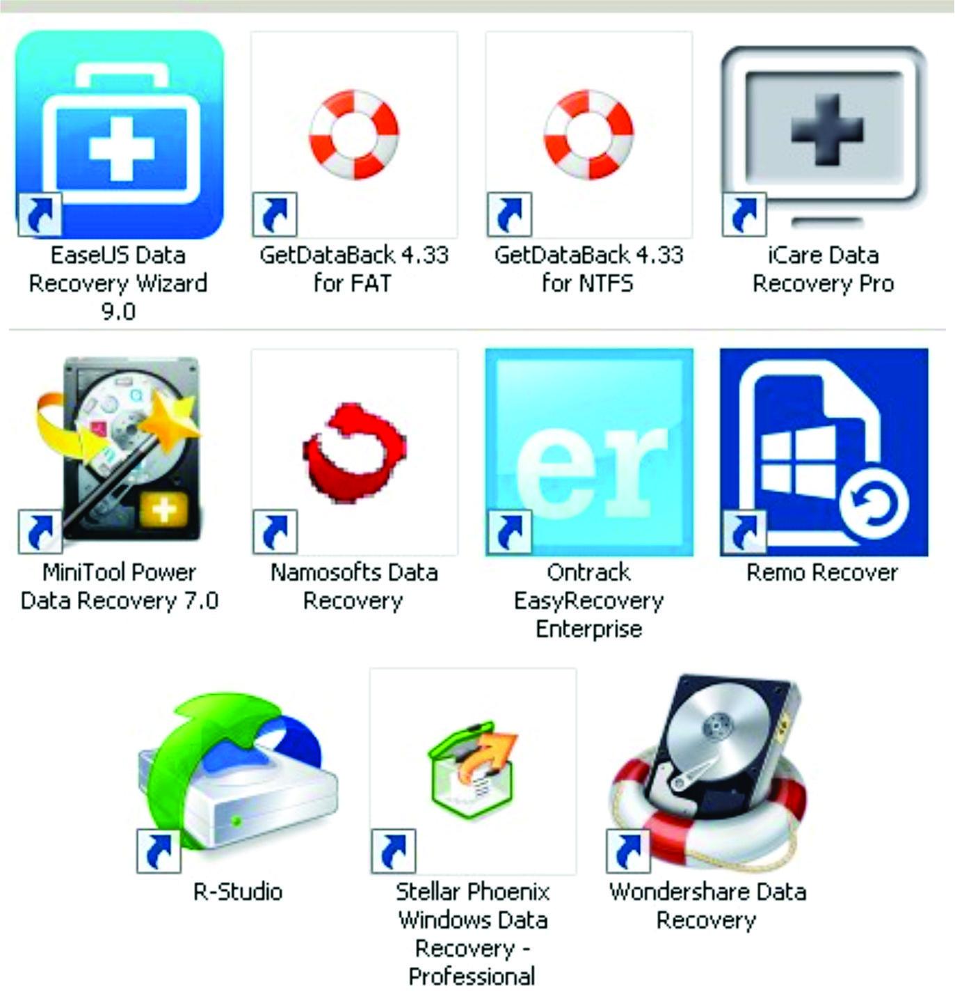 Aplikasi Terbaik Tuk Recovery Memulihkan Mengembalikan Data pojok cyber EaseUS Data Recovery Wizard GetDataBack iCare Data