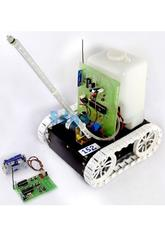 Multiple Interface Based Fire Fighting Robotics Project