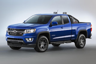 Chevrolet Colorado Z71 Trail Boss Extended Cab (2016 North American Spec) Front Side
