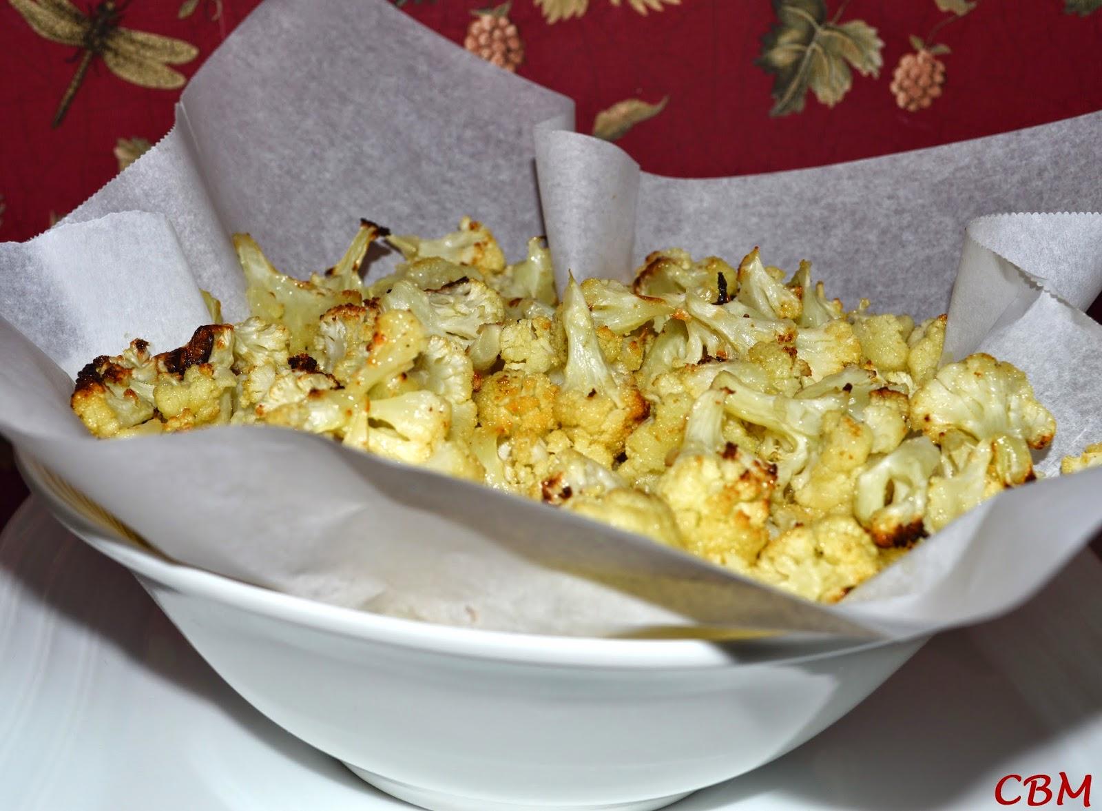 Dans La Cuisine De Blanc Manger Chou Fleur Pop Corn