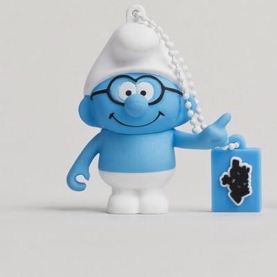 Smurf USB memory stick