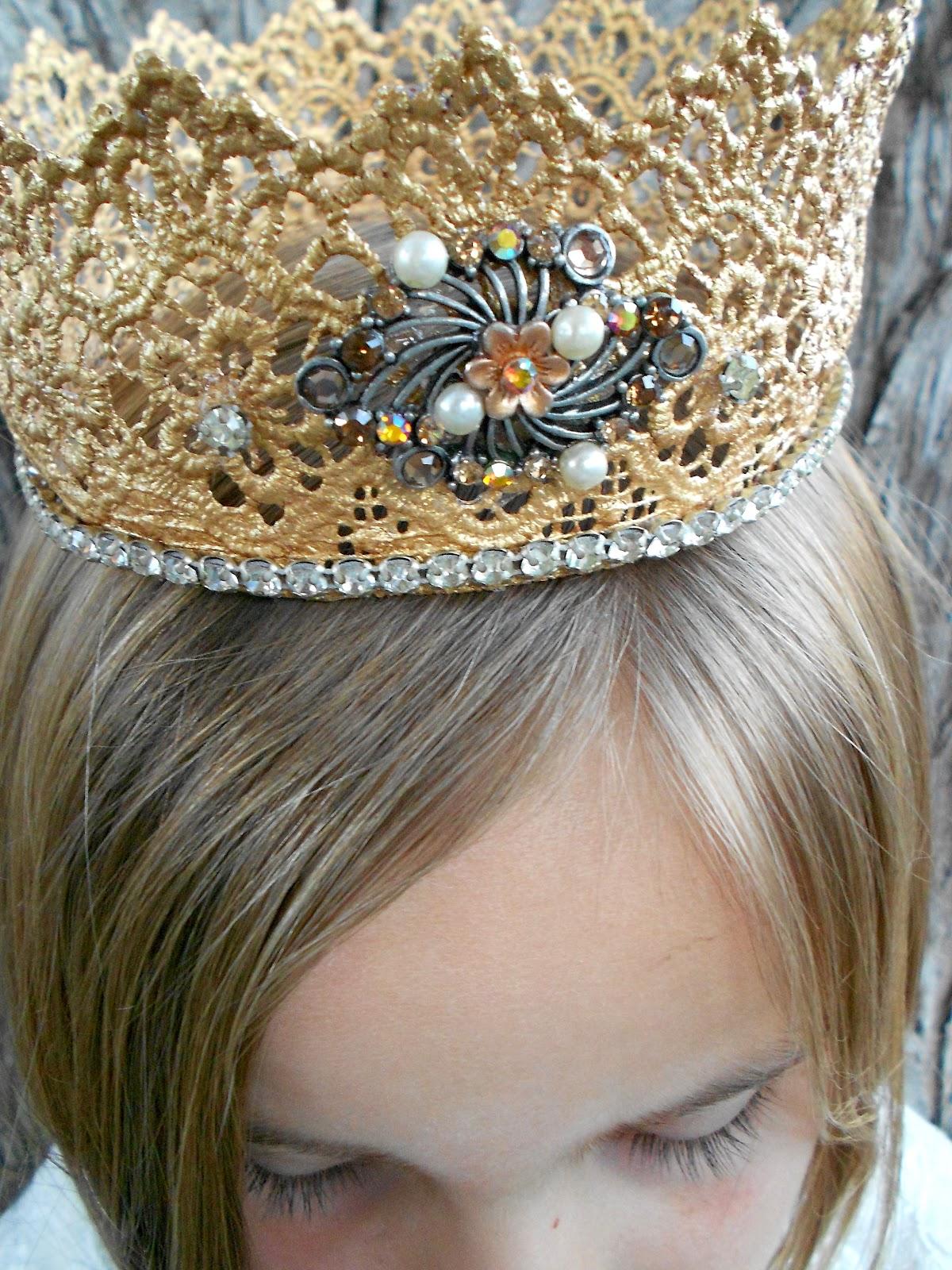 Корона для принцессы своими руками фото