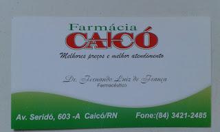 FARMÁCIA CAICÓ MELHORES PREÇOS E MELHOR ATENDIMENTO