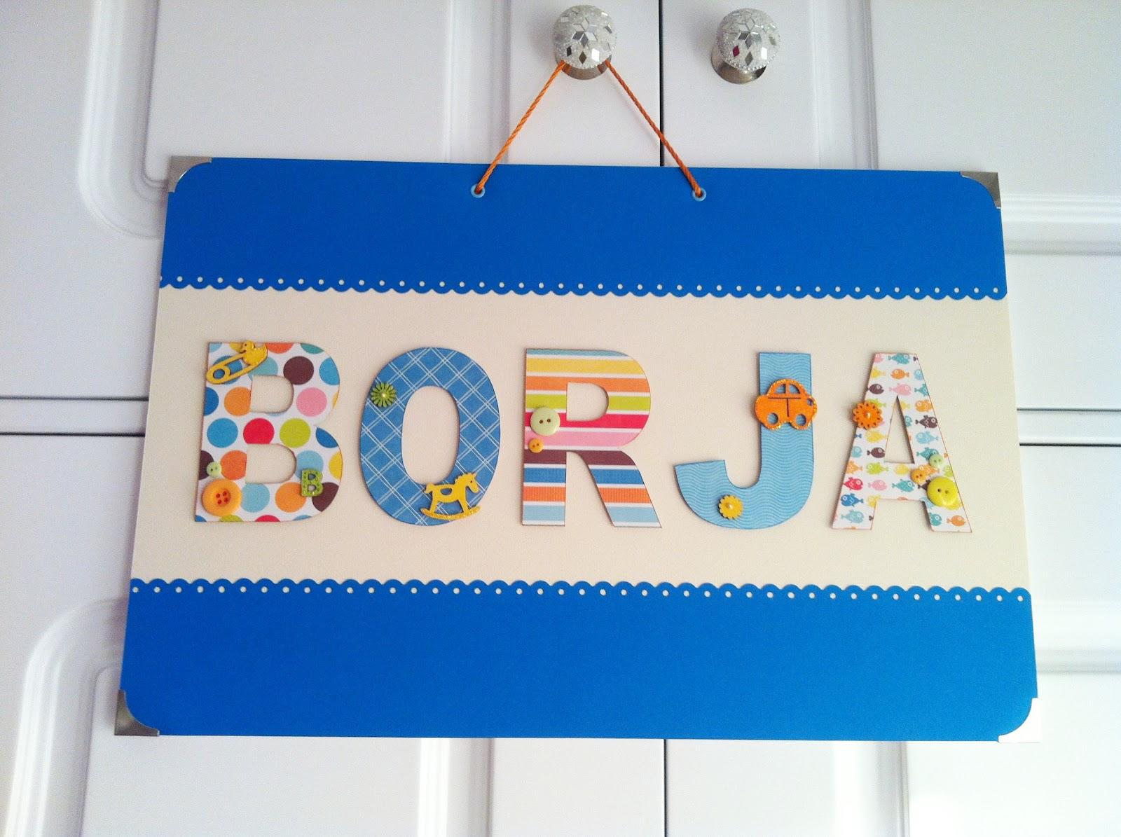 Tiz scrap un nombre de una forma muy original y vistosa - Como decorar un sobre ...