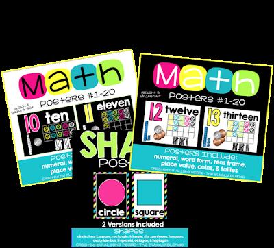 https://www.teacherspayteachers.com/Store/The-Bubbly-Blonde/Category/Classroom-Decorations