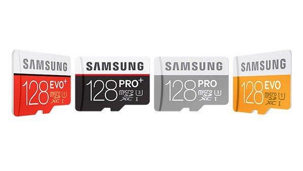 سامسونج, تكشف, عن, بطاقة, ذاكرة, microSD, بسعة, 128, جيجابايتا