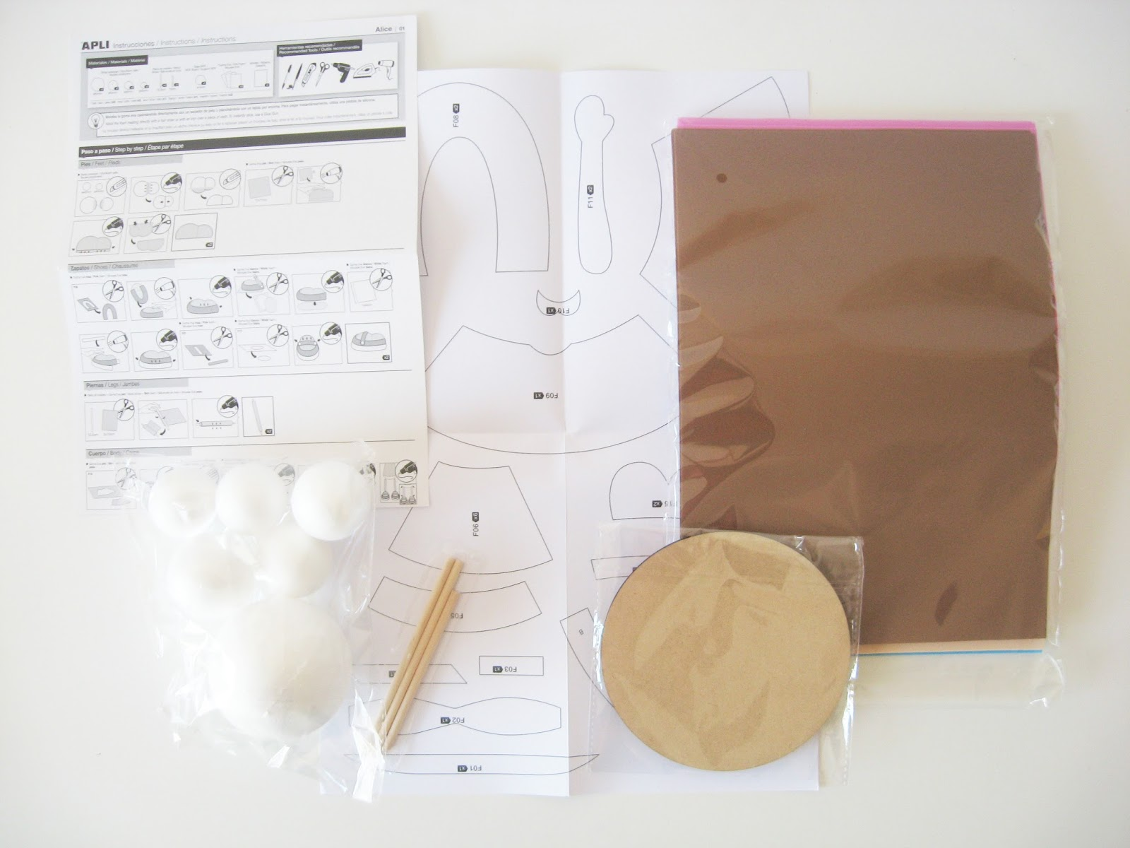 kit fofucha polymère passion mousse