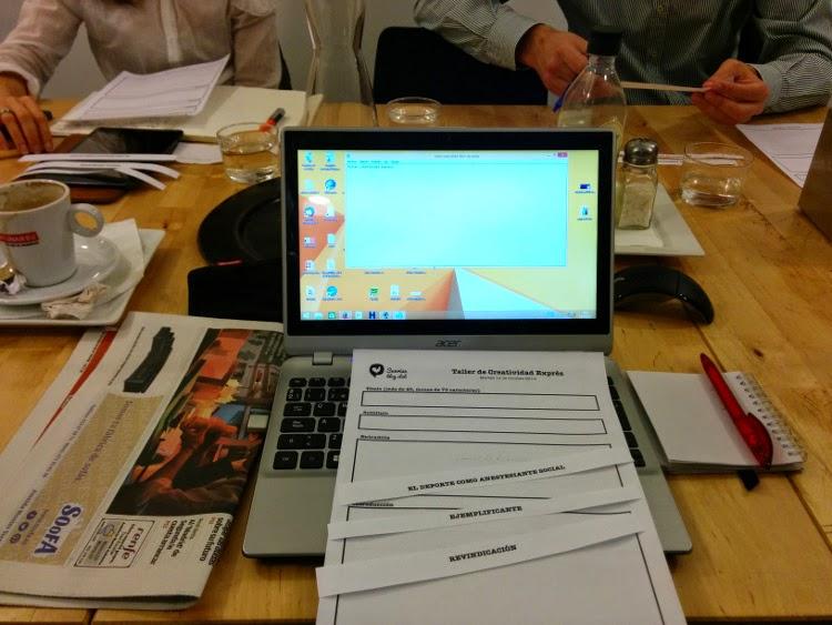 Trabajando un guión para escribir un entrada de blog
