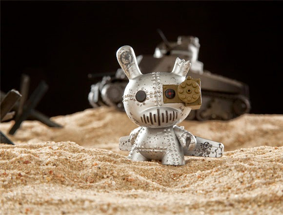 """Art of War"" Dunny 2014 Series by Kidrobot - DrilOne"